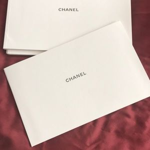 Authentic Chanel Care Booklet